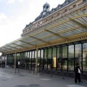 Auvent en acier du musée d'Orsay (Paris - Aulenti et Philipon architectes - 1986) photo: Françoise Miller