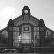 Architecture du XXe en acier - Marché des Vosges (Belfort - Schwartz et Haumont - 1929).