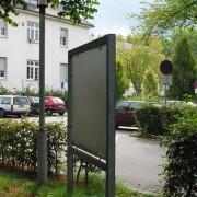 Mobilier urbain en acier galvanisé (Fribourg- Allemagne).