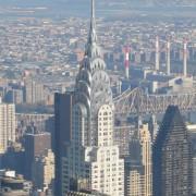 Vue de l'agglomération de New York (EU) - photo: Christine Belliard-Roman.