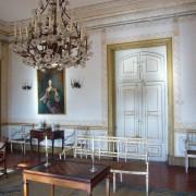 Une antichambre du palais de Queluz (Portugal) photo: Françoise Miller.