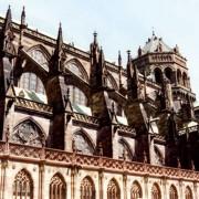 Arcs-bouttant de la cathédrale de Strasbourg - photo: Françoise Miller.