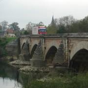 Arches de ponts avec culée conique (71) photo: Karine Terral.