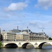 Série d'arches du pont Royal sur la Seine (Paris) (75) photo: Françoise Miller.