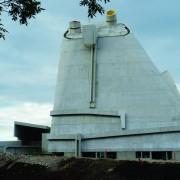Un exemple de l'architecture moderne - Eglise Saint-Pierre (Firminy - Le Corbusier - José Oubrerie - 1960-2006) photo: Karine Terral.