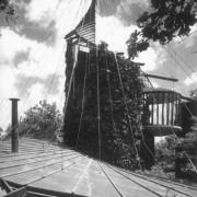 Architecture organique de Bruce Goff - Bavinger House (Norman - E.U.) 1950-1955.