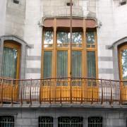 L'hôtel Solvay - un exemple Art Nouveau de l'architecture de Victor Horta (Bruxelles - 1894-1903) photo: Françoise Miller.