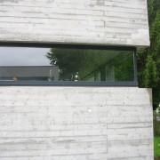 Baie avec feuillure du musée d'Hittisau (Autriche) (Cukrowicz et Nachbaur - 1998-2000).