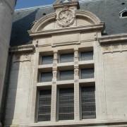 Baie renaissance (1585) du Palais de justice de Besançon - photo: Karine Terral - 2007