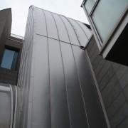 Bardage métallique de l'Ecole Normale Supérieure de Lyon (69) (Atelier Henri Gaudin - 1997-2000) photo: Karine Terral.