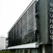 Architecture fonctionnaliste de l'école du Bauhaus de Dessau (All.) (Gropius - 1926) extrait de Plans - Sections and Elevations - bâtiments majeurs du XXe - Richard Weston pour Le Moniteur.