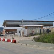 Bungalow préfabriqué de chantier - chantier du collège de Maîche (25).