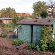 Cabanon: petite cabane de jardins familiaux.