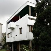 Composition moderne de la maison Lugand - Vesoul (70) (André Maissonnier - architecte - 1954-1956) photographe: Nicolas Waltefaugle.