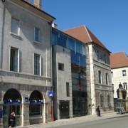 Réhabilitation d'un patrimoine religieux en équipement universitaire - Présidence de l'Université de Besançon (25) (Lefranc - architecte).