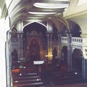 Coupole de la synagogue de Besançon de style mauresque XIXe par Hirsch - architecte - photo : Karine Terral