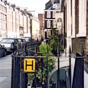 Cour anglaise à Londres - photo: Françoise Miller.