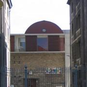 Couvrement du lycée Condé de Besançon (25) (Quirot-Vichard - architectes - 1999) photo: Karine Terral.