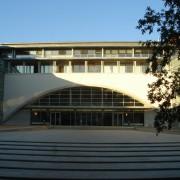 Emmarchement du Palais de justice de Besançon (25) (Atelier Henri Gaudin - 1994-2003) photo: Karine Terral.