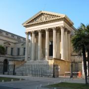 Chapiteaux du Palais de Justice - Montpellier (34) photo: Odile Besème.