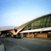 Expressionnisme du Terminal de New York (Eero Saarinen 1958-62)