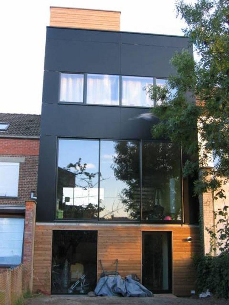 HD wallpapers maison moderne bow window ...