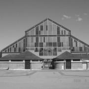 Architecture de fer des halles de marché - Belfort (90) photo: Roland Galli.