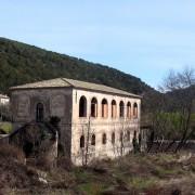 Friche industrielle de la filature de soie de Pont-de-Salindres (30) Photo: Françoise Miller