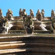Gargouilles de l'église Notre-Dame - Dijon (21) photo: Odile Besème.