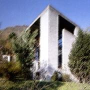 Maison à Pregassona (Italie) (Mario Botta - architecte - 1980).