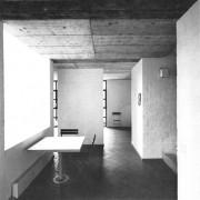 Intérieur de la Maison Pregassona (Italie) (Mario Botta -  1980).