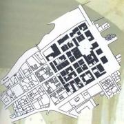 Plan de la bastide de Bretenoux XIIIe - illustration du site www.bretenoux.fr