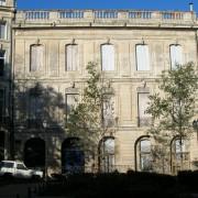 Hôtel particulier - place de la Canourgue à Montpellier (34) photo: Odile Besème.