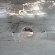 Intérieur d'un igloo - photo: www:tujurmivikhotel:comfrench-photo:html