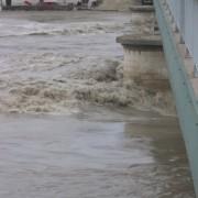 Inondation liée aux intempéries (Arles) photo: Christine Belliard-Roman.