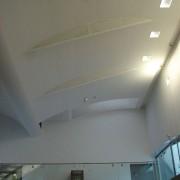 Plafond avec correction acoustique - Ecole Normale Supérieure de Lyon (69) (Henri Gaudin - 1997-2000) photo: Karine Terral.