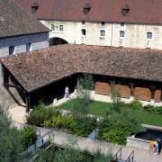 Jardin de l'aquarium de la Citadelle de Besançon (Quirot et Vichard - architectes et agence Territoire paysagistes) photographe: Nicolas Waltefaugle.