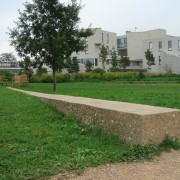 Jardin de l'Ecole Normale Supérieure - Lyon (69) (Gilles Clément - paysagiste) photo: Karine Terral.
