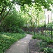 Jardin public de la Vieille Intendance - Orléans (45) 2004- photo: Lucie Ferreira.