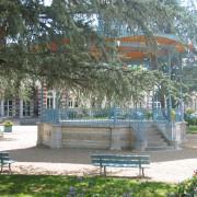 Kiosque de Salies de Béarn (64) photo: Odile Besème.