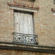 Linteau de fenêtre Besançon (25) - photo. Karine Terral.