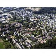 Vue aérienne des lotissements de Chambéry - photo : Gilles Garofolin - site de la Ville de Chambéry