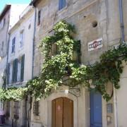 Maison de ville - Arles (Bouches-du-Rhône) photo: Françoise Miller.