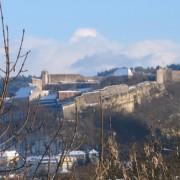 Rempart de la Citadelle de Vauban à Besançon (25) - photo : Karine Terral.