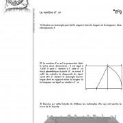 Exercice extrait du dossier pédagogique fait pour le château de Champlitte (70) par le CAUE du Doubs.