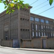Ordonnance de la façade de l'usine Dodane - les frères Perret - Besançon (25) photo: Karine Terral.
