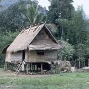 Paillote - Laos - photo: Gérard Lamorte.