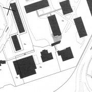 Parcellaire du quartier ZUP de Planoise - années 60 - Besançon (25) extrait du cadastre.