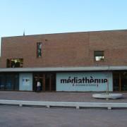 Parement en brique (Bibliothèque de Rosheim - Quirot et Vichard architecte) - photo. Karine Terral - 2007.