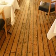 Parquet d'une salle de restaurant (Norvège).